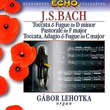 Bach, J.S: Toccata Und Fugue in D Minor / Pastorale in F Major / Passacaglia and Fugue in C Minor