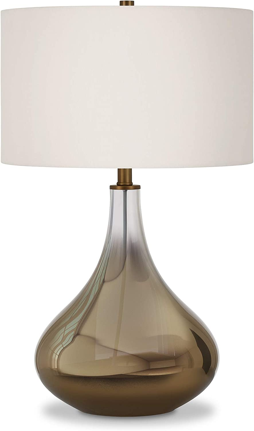 Henn&Hart TL0027 Glass Ombre Lamp One Size Brass