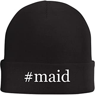 Tracy Gifts #Maid - Hashtag Beanie Skull Cap with Fleece Liner