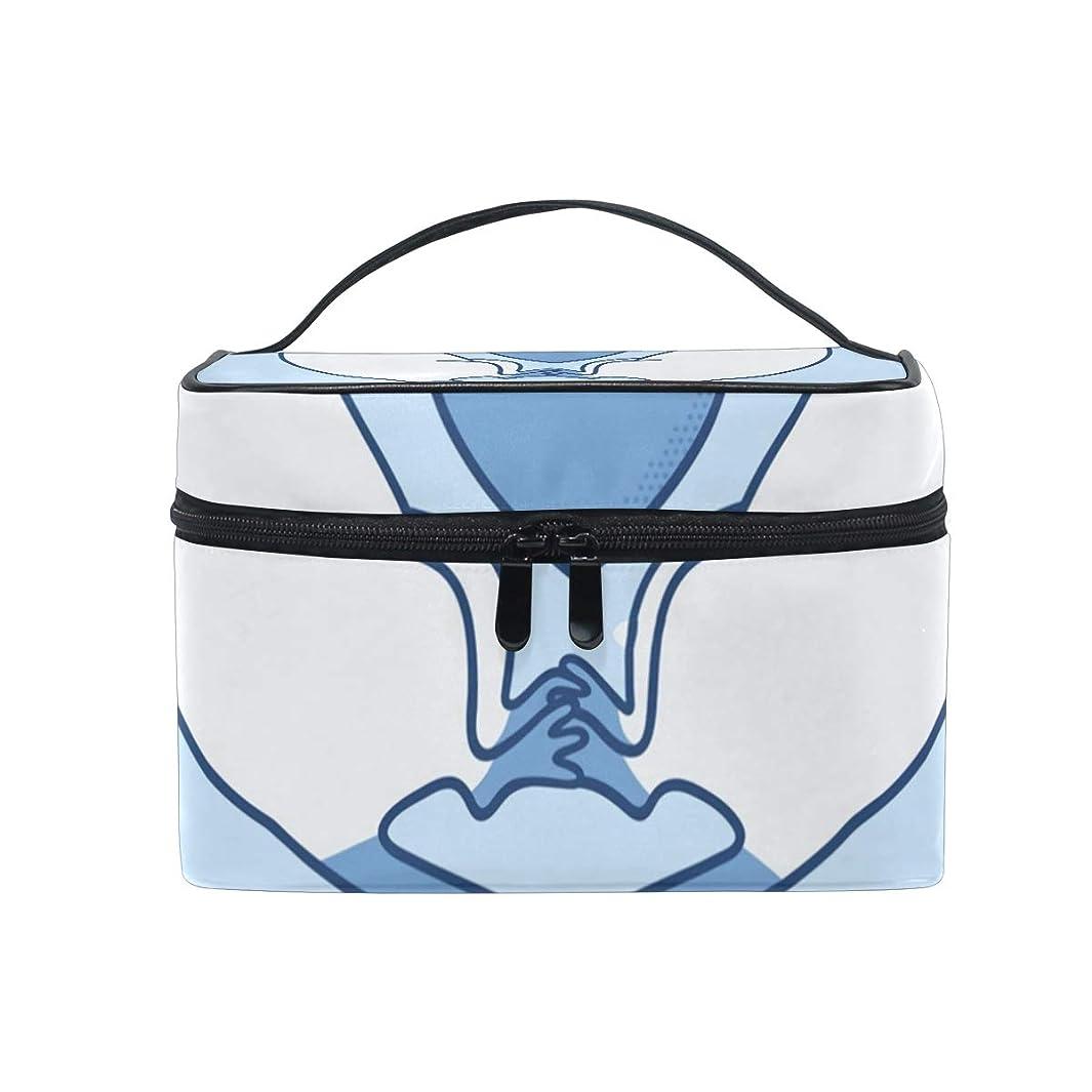 ましい健全不明瞭メイクボックス ラットは心を愛する柄 化粧ポーチ 化粧品 化粧道具 小物入れ メイクブラシバッグ 大容量 旅行用 収納ケース