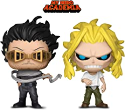 Warp Gadgets MHA Bundle - Funko Pop My Hero Academia: Hero Costume Shota Aizawa Hot Topic Exclusive and Weakened All Might (2 Items)