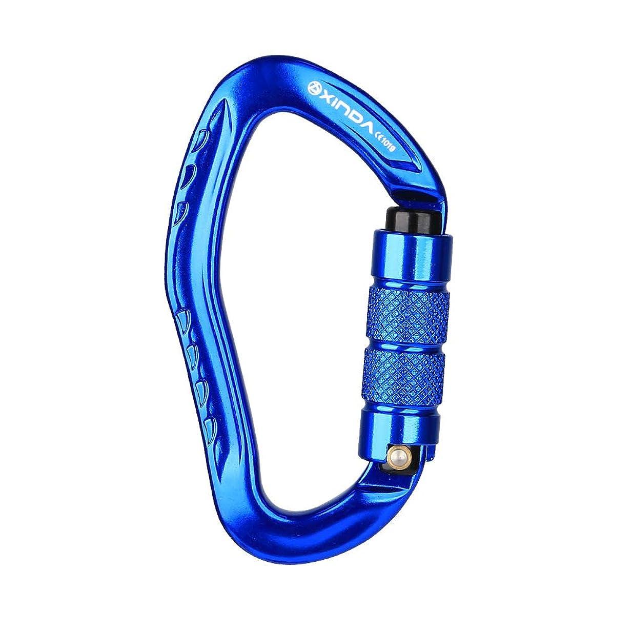 まつげ逆嬉しいです耳型自動ロッククライミングロック、アウトドアクライミング機器安全バックル落下保護装置登山フックロック