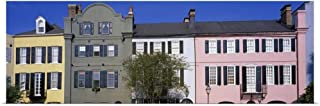 GREATBIGCANVAS Poster Print Rainbow Row Historic District Charleston SC by 60