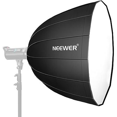 Neewer 120 centímetros Softbox Hexadecagon Profundo - Rápida Plegable con Bowens Speedring y Difusor para Flash Speedlite Estudio Monolight, Retrato y Fotografía de Producto