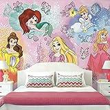 RoomMates RMK11414M Disney Princess Peel and Stick Wallpaper Mural - 10.5 ft. x 6 ft.