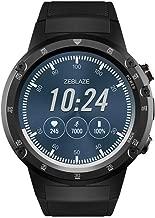 ZhanTing Zeblaze Thor 4 Plus GPS Bluetooth Smartwatch 1.4 inch Amoled Display Sport Wrist Watch Fitness Tracker Pedometer 5.0MP Camera for Men (Gray)
