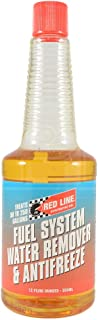 Red Line 60302 Fuel System Water Remover & Antifreeze 12oz, 1 Pack