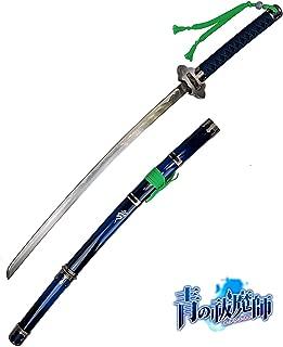 Yongli Sword Blue Exorcist Sword Ao No Exorcist Rin Okumura Kurikara Japanese Anime Cosplay Replica Game Carbon Steel