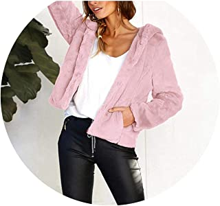 CHOiES record your inspired fashion Womens Lapel Long Sleeve Faux Shearling Coat Winter Boyfriend Winter Faux Coat