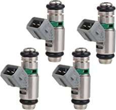 uxcell 4pcs IWP042 Petrol Oil Fuel Injectors for 1998-2016 Renault Clio Hatchback