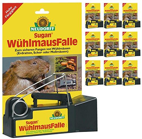 10 x Neudorff Sugan WühlmausFalle