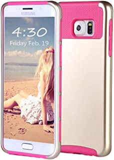 ULAK Galaxy S6 Edge Plus Case, 2 in 1 Shield Dual Layer Hybrid Case with Soft TPU and Hard PC Design for Samsung Galaxy S6 Edge Plus (5.7