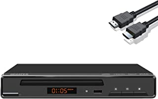 DVD Player, Megatek DVD Player for TV with HDMI Output Full HD 1080p Upscaling, Supports Multi Region Free DVDs, USB Port,...