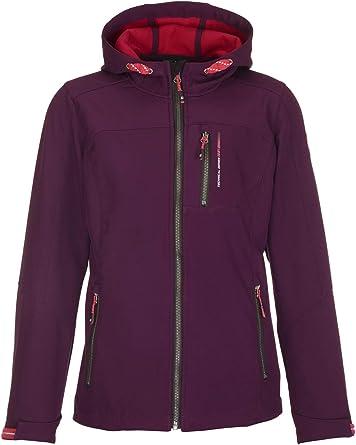 killtec Girls Abree Softshell Jacket with Hood