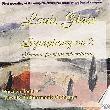 Louis Glass: Symphonies Vol. 3
