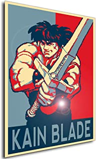 Instabuy Poster - Propaganda - Pixel Art - Golden Axe The Duel - Kain Blade Manifesto 70x50