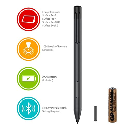 Digital Pen Active Stylus for HP Spectre x360 13-AC023DX, X2 12-C012DX