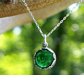 Best vintage green glass necklace Reviews