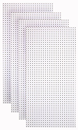 Triton Products HDW-4 (4) White Hdf Pegboards