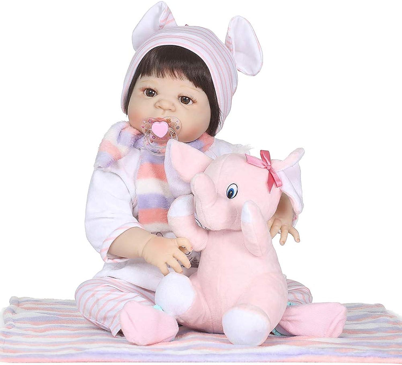 HeDIANz 56cm Simulation Baby Spielzeug Weiche Kinder Kinder Neugeborenen Reborn Puppe Geburtstagsgeschenk B07P1RQM7C Der Schatz des Kindes, unser Glück  | Zarte
