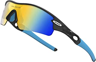 Polarized Sports Sunglasses for Men Cycling Running...