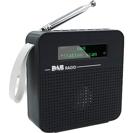 Maxesla DAB+/DAB Radio Portable,Digital Radio & FM Radio,DAB Radio with Bluetooth,Portable DAB Radios with USB Charging,40 Preset Stations,LCD Display,Dual Alarm Clock & 3.5mm Earphone Jack
