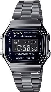 Casio Digital Black Dial Unisex's Watch-A168WGG-1BDF (D182)