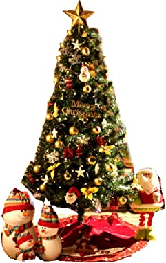 CHAOZHAOHENG 4 Foot Artificial Christmas Tree, Upgraded Fake Christmas Tree, Equipped with Metal Legs, Easy to Assemble, Used in Home Christmas Decorations.