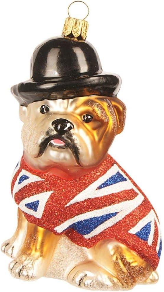 The Whitehurst Company English ◆在庫限り◆ Bulldog Ornament Glass - 4