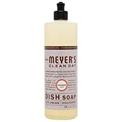 Mrs. Meyer's Clean Day Liquid Dish Soap, Lavender Scent, 16 ounce bottle