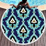 Toalla de manta de playa redonda, Toallas de playa para mujeres, Toalla de playa...