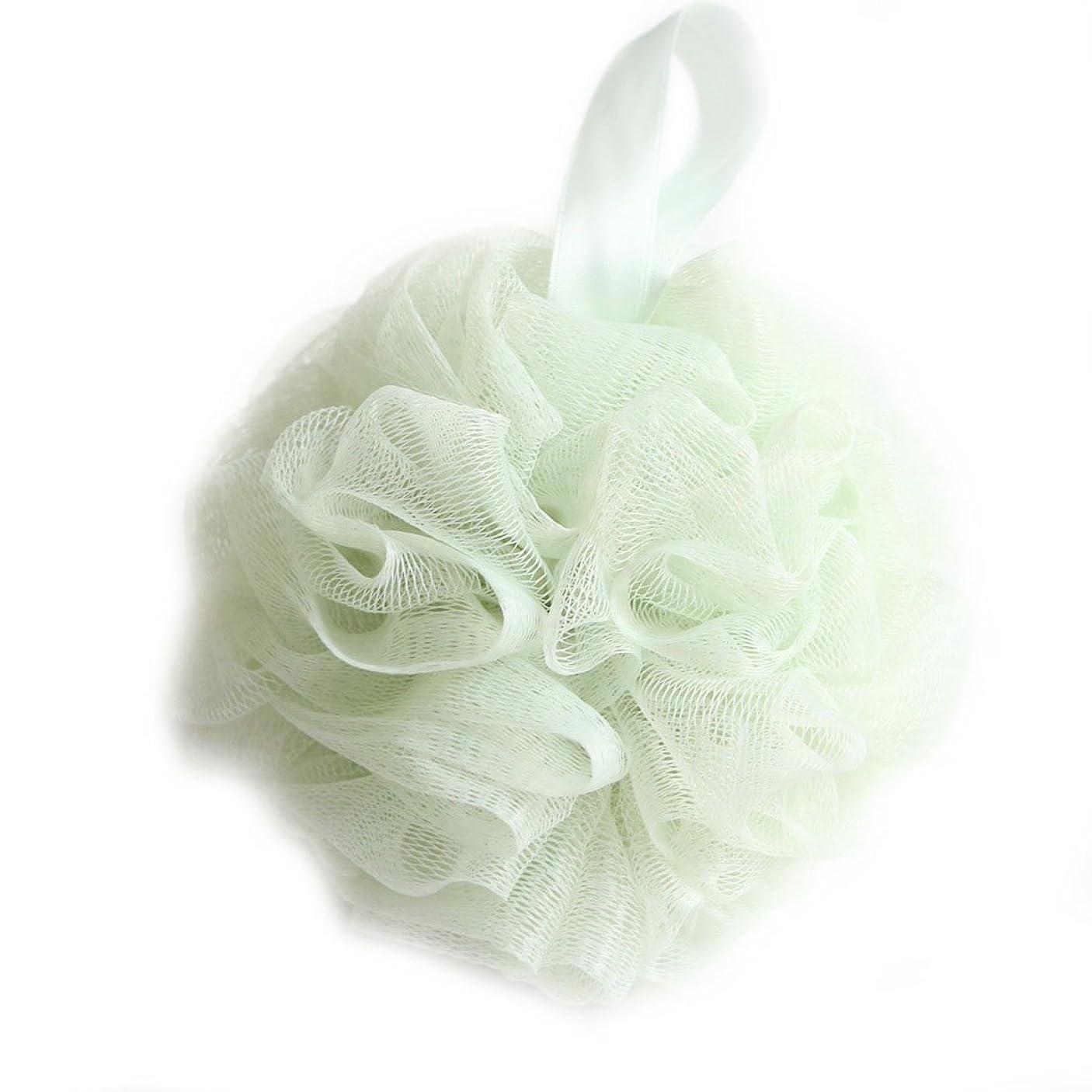 技術者探す叫び声バスボール 泡立てネット 花形 タオル 超柔軟 つるつる ボディ用お風呂ボール ボディウォッシュボール シャワー用 崩れない 4種類の色選択 LissomPlume