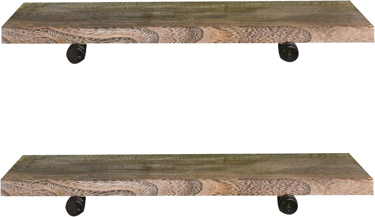 Destop Floating Shelves Max 54% OFF Rustic Wood Max 70% OFF Wall-Mounted Storage