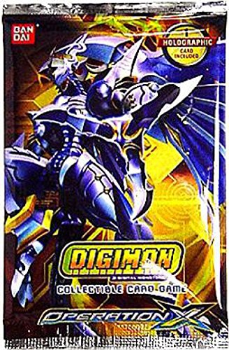 Digimon Collectible Card Game Operation X Booster Pack [Toy]