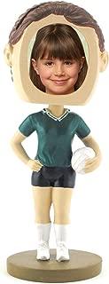 Female Volleyball Photo Bobble Head