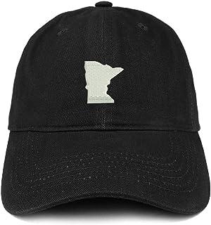 Trendy Apparel Shop Minnesota State Map bordado suave corona