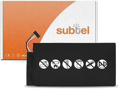 subtel  Premium Akku kompatibel mit ASUS Google Nexus 1st Gen  2012  Pad ME370T  4300mAh  C11-ME370T Ersatzakku Batterie Tabletakku