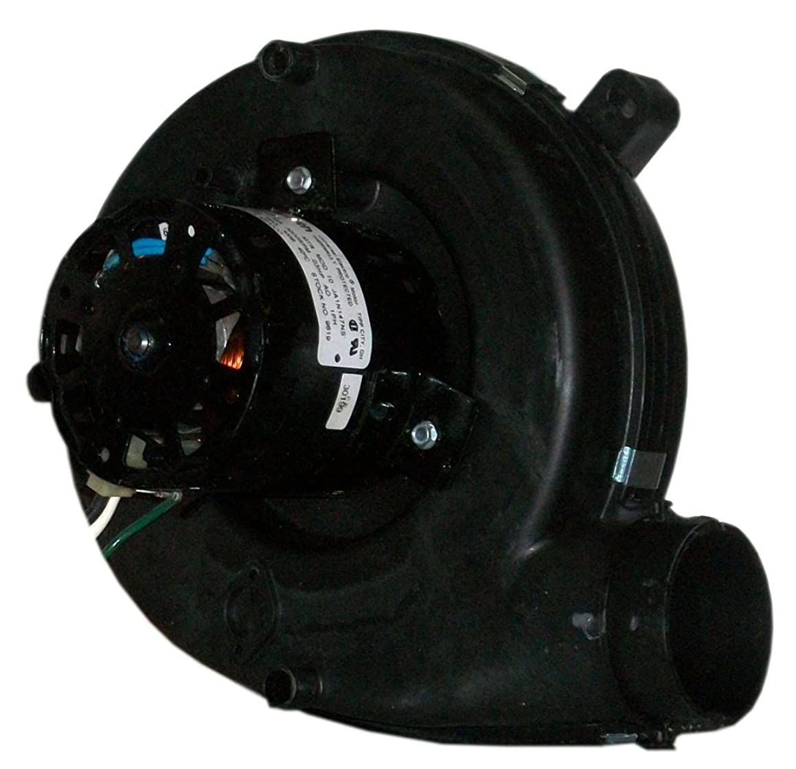 A.O. Smith 9620 90 CFM, 1/20 hp, 3200 RPM, 115 Volts, Shaded Pole, 1 Speed Centrifugal Blower