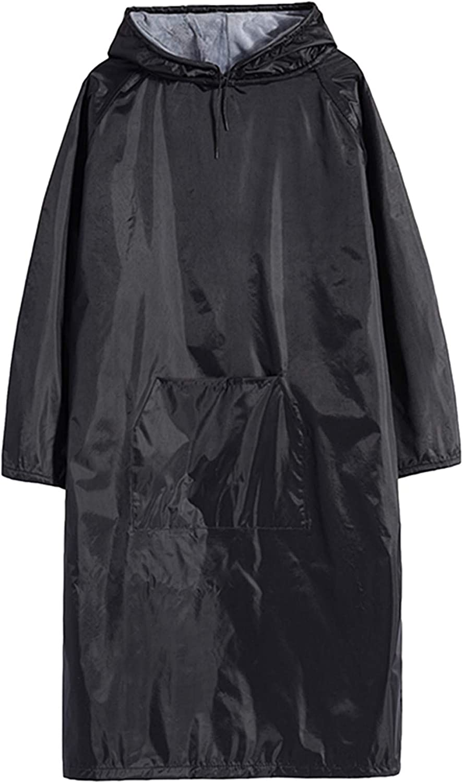 Mens Outdoor Warm Waterproof Lightweight Windbreaker Raincoat Hooded Rain Jacket