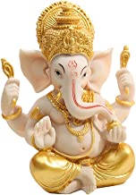 "Generic 4""Ganesh Elephant Statue Fengshui Buddha Ganesha God of Success Decor Gold"