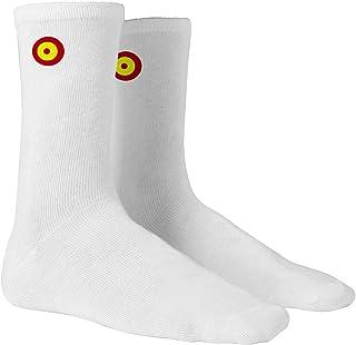 Calcetines sport con bandera de España en forma de diana