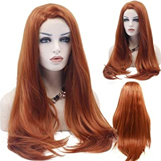Best copper red synthetic wig Reviews