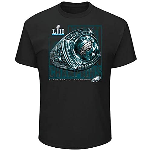 Philadelphia Eagles 2018 Super Bowl Champions Mens NFL AUTHENTIC Pro Line  Black Super Bowl LII Champions 434cec612