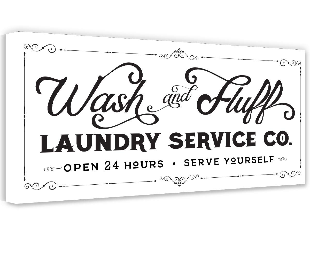 Wash Fluff Laundry - Unframed Challenge the lowest price Housewarming Gift Detroit Mall Print Great