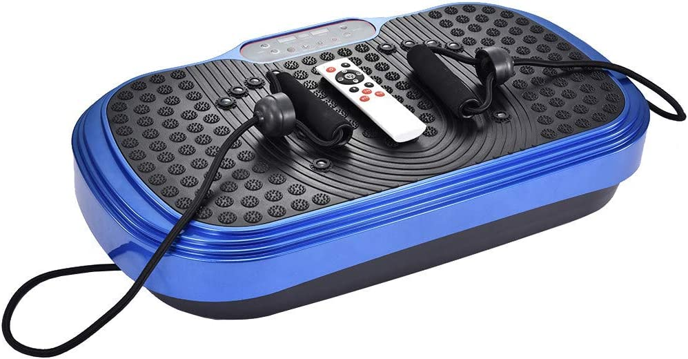 Body Vibration Platform Machine Massager Fitness Slim Platform Exercise Plate Fit Home Indoor