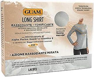 Guam - Long Shirt Donna Rassodante Tonificante Taglia S Colore Grigio Perla