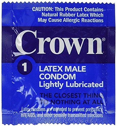 Okamoto Crown Condoms - 50 Bulk Count (50 Pack)