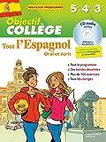 Objectif Collège - Tout l'espagnol - 5e...