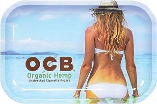"OCB Rolling Tray - Beach (Medium 11"" x 7.5"")"