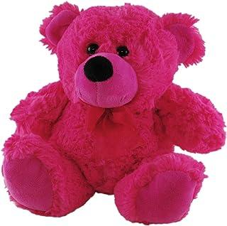 Elka Australia 76201-23HP Jelly Teddy Bear Soft Plush Toy, Hot Pink, 23 Centimeters